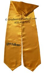 UPP Fellows Gold Graduation stole