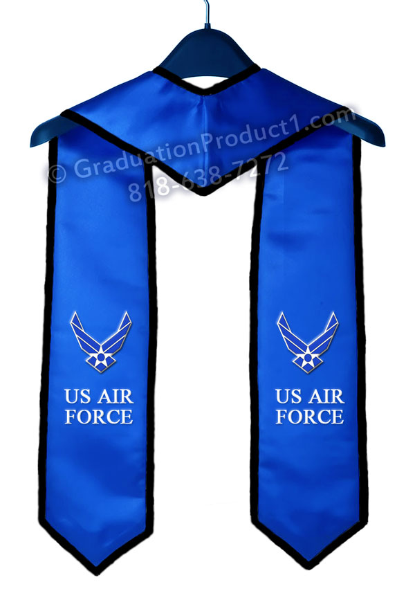 Us Air Force Graduation Stole