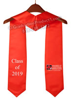 University of Central Missouri Red Graduation Stole