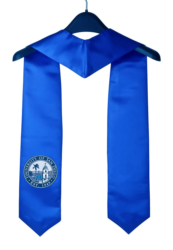University Of San Diego Graduation Stole