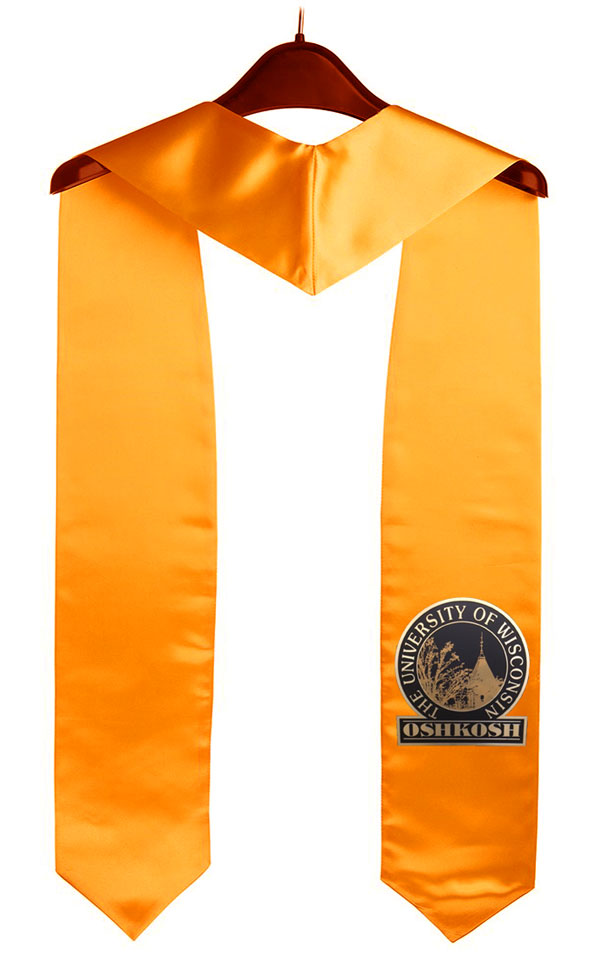 University Of Wisconsin Oshkosh Graduation Stole
