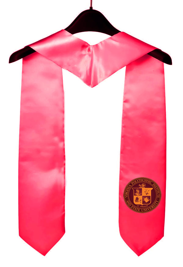 Virginia Tech Graduation Stole