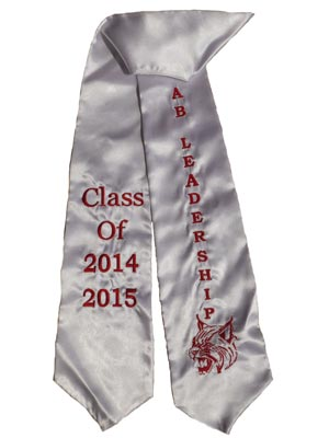 AB Leadership Class of 2015 Graduation Stole