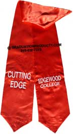 Edgewood College Graduation Stole