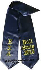 Kappa Sigma Alpha Greek Graduation Stole