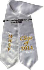 MHSP California State University Graduation Stole