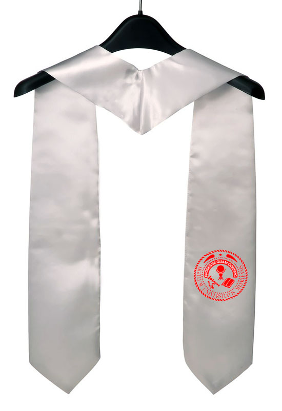 Miamioh Edu White Graduation Stole