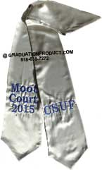 CSUF Moot Court Graduation Stole