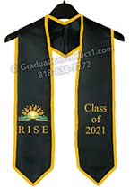 RISE youth BHS Graduation Stole