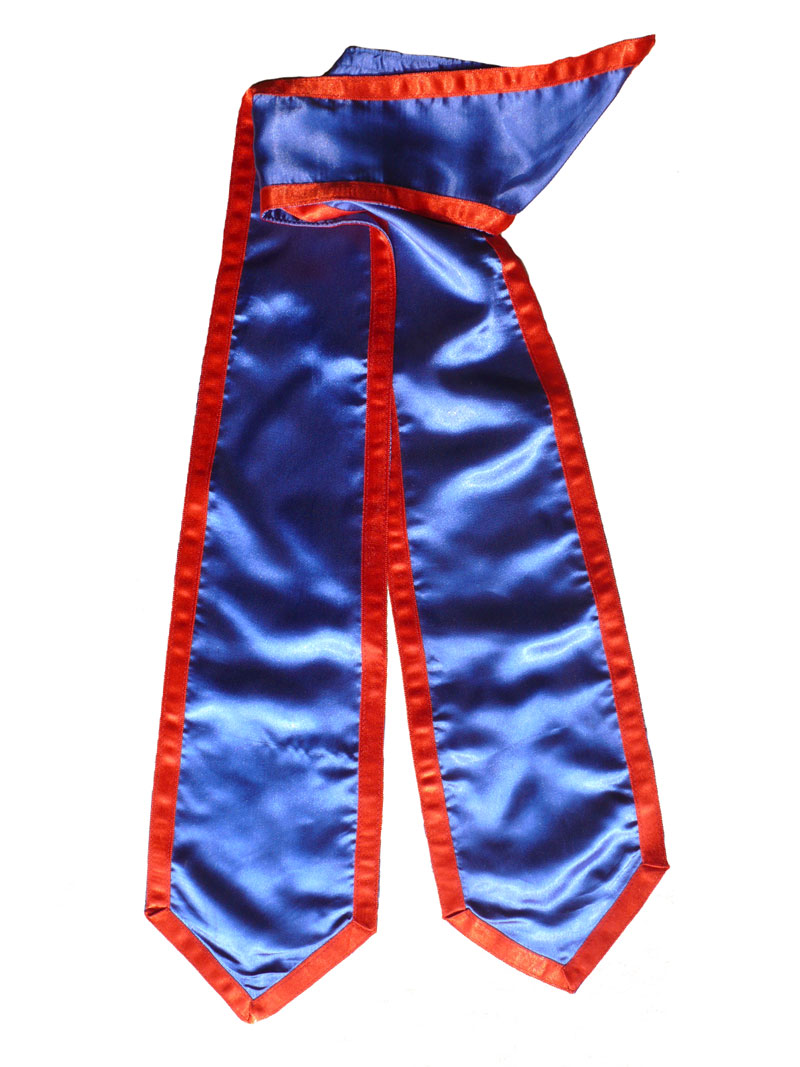 Royal Blue Honor Stole With Red Trim