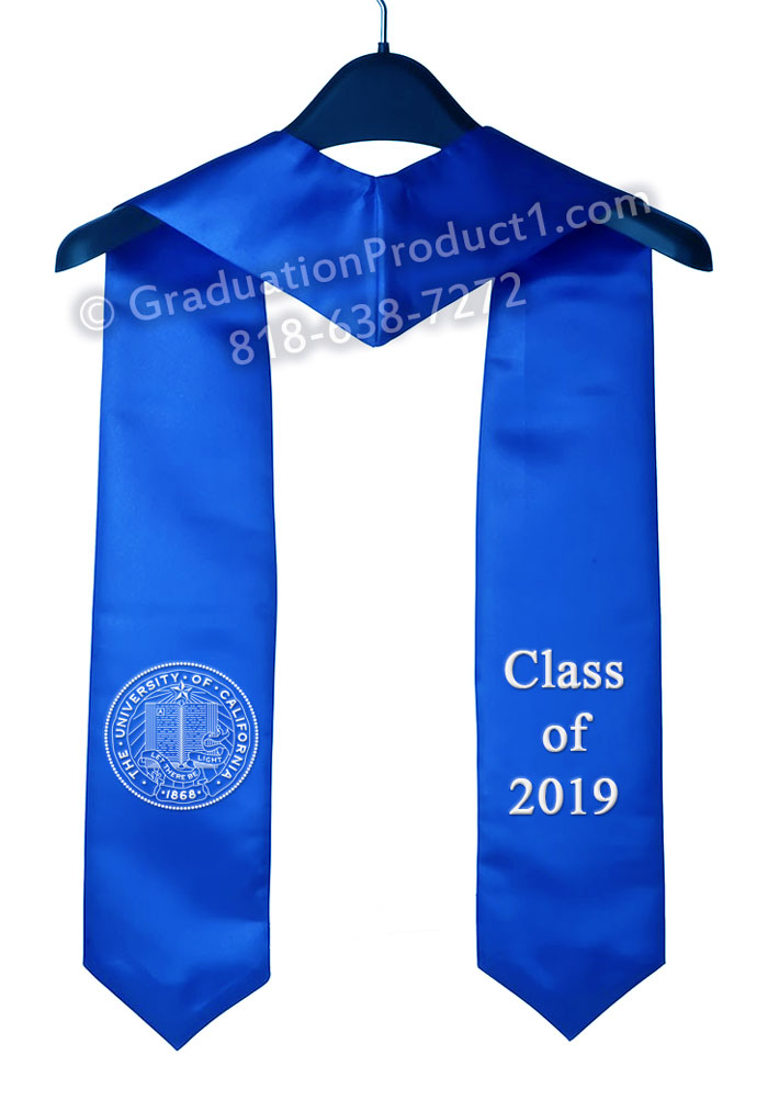 University Of California Graduation Stoles