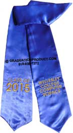 Wellesley College Computer Science Graduation Stole
