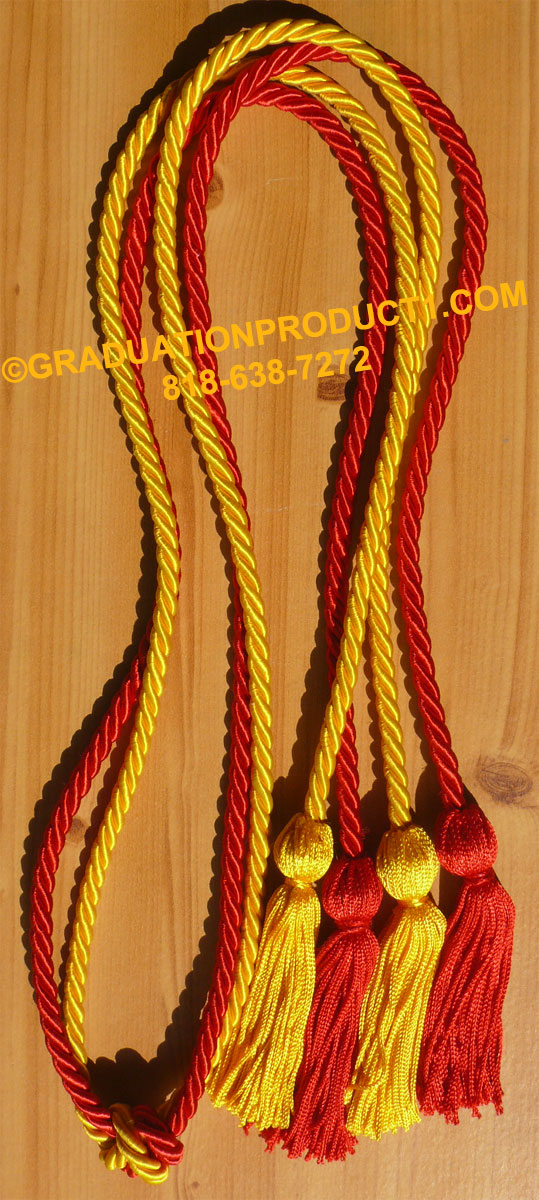 Red Gold Double Honor Cord