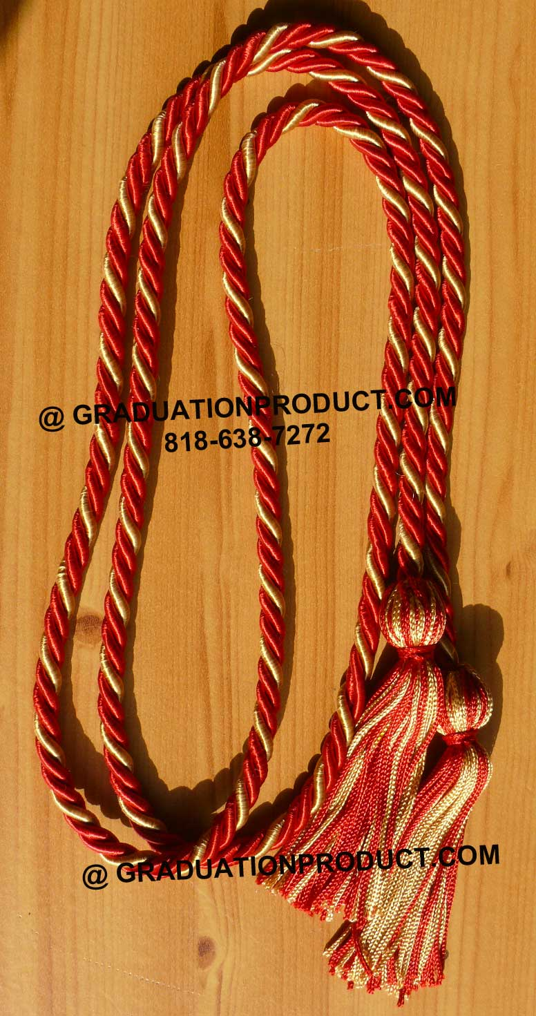 Red Oldgold Honor Cords