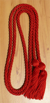 Red  Graduation Cords