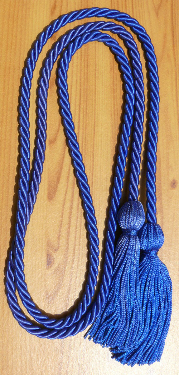 Royelblue Single Honor Cords