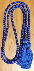 Royal Blue Graduation Cords