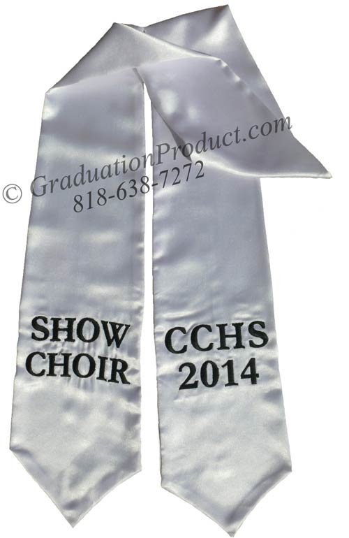 Show Choir Cchs Honor Sash