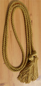 Special Gold Graduation Cords