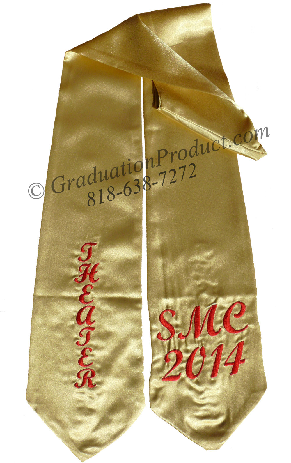 Theater Smc Grduation Stole