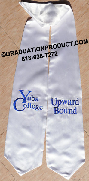 Yuba College Graduation Stole